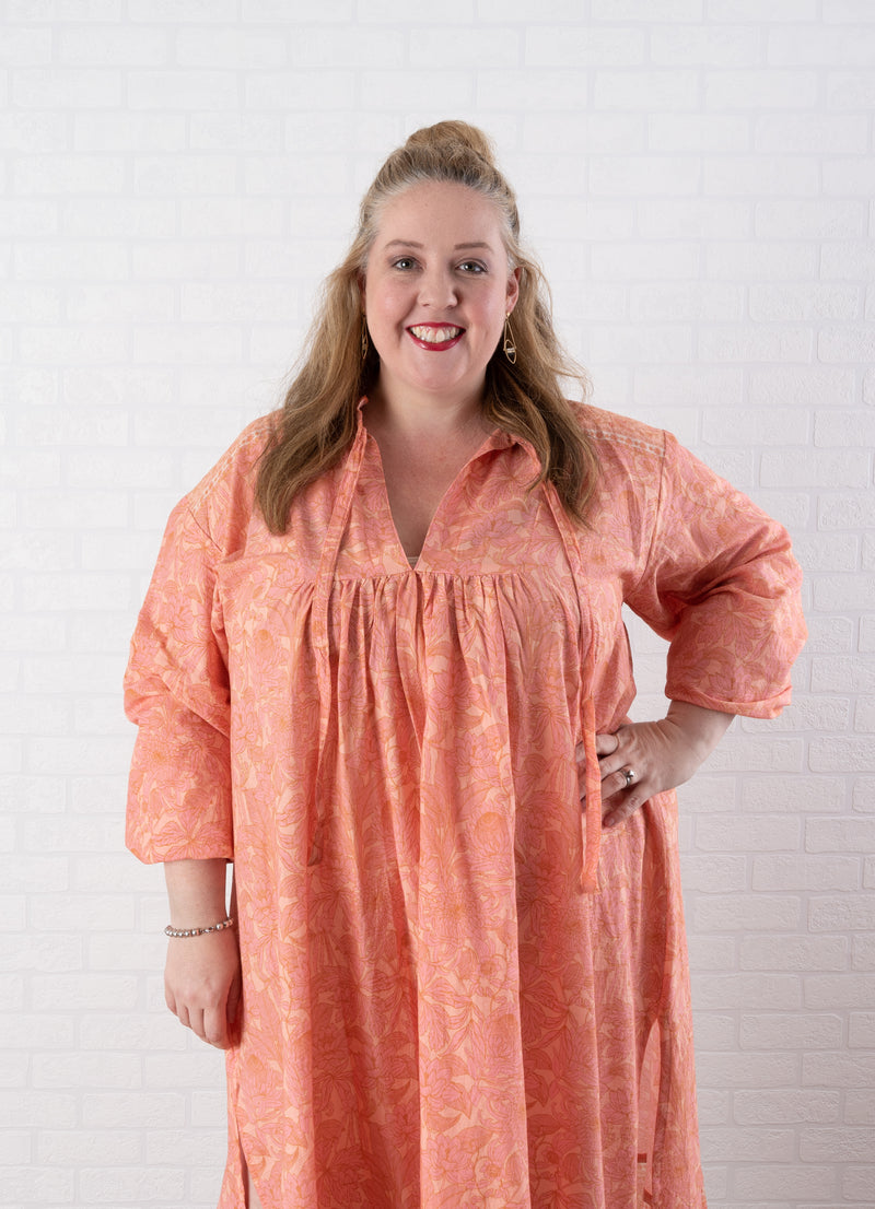 House of Lacuna ~ Daisey Dress Peachy