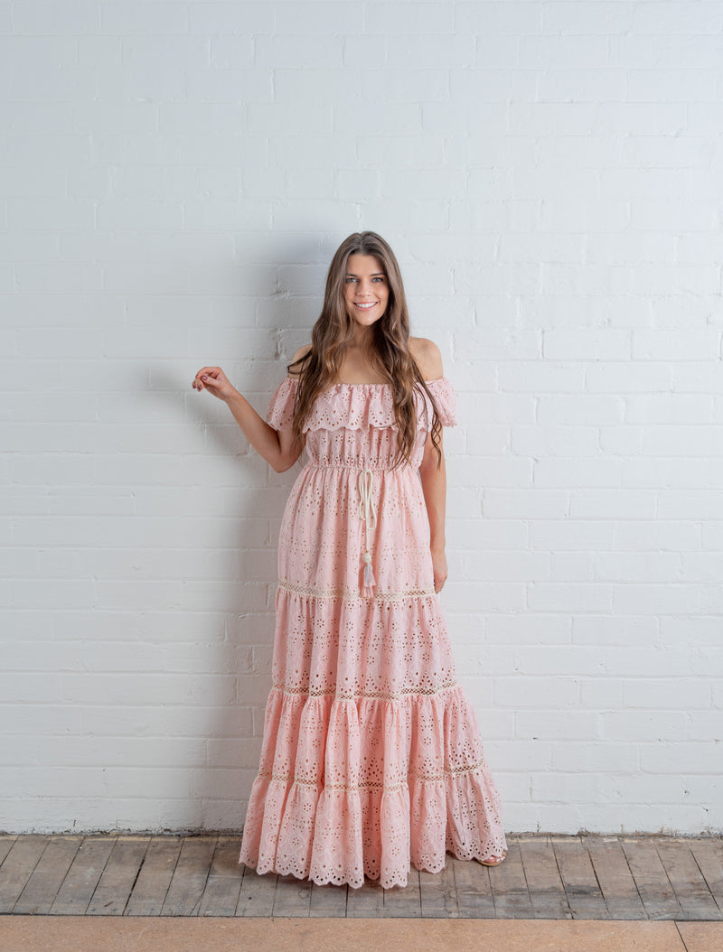 Miss June Paris ~ Wisteria Maxi Dress