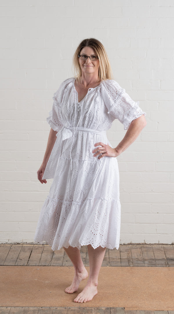 House of Lacuna ~ Summer Embroidery Anglaise Dress
