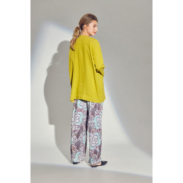 Airy Linen Shirt | Lemon