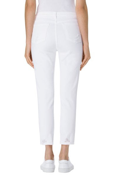 Sadey Crop Slim Straight Leg | Disconnect