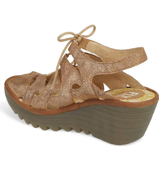 Yexa Wedge | Luna Camel