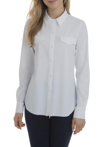 Brinkley Button Down | White