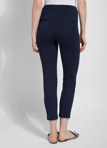 Wisteria Navy Ankle Pant