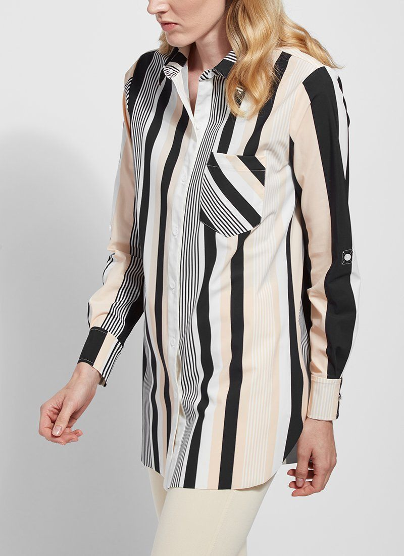 Schiffer Top | Awning Stripe