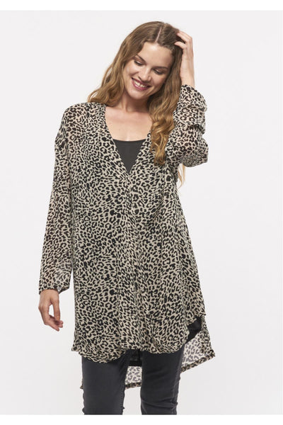 Melva Animal Print Dress | Leopard