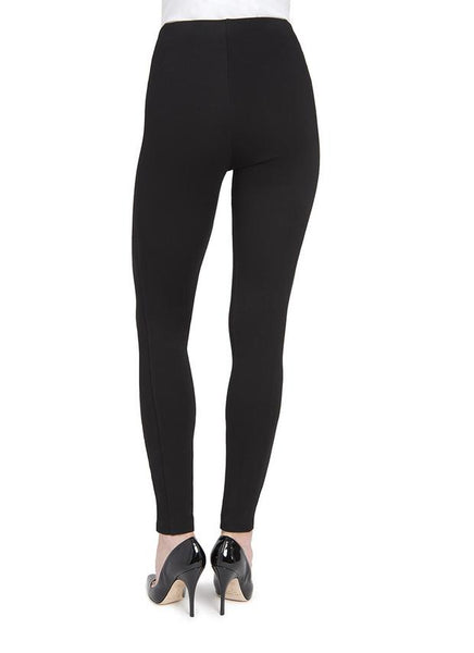 Mara Seamed Legging | Black