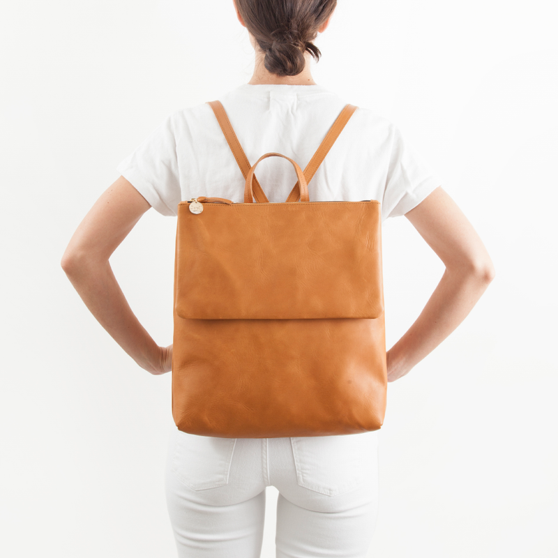 Agnes Backpack | Cuoio Vachet