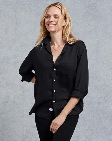 Eileen Modal Button Down | Black