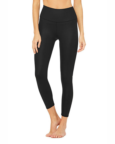 7/8 High Waist Airbrush Legging | Black