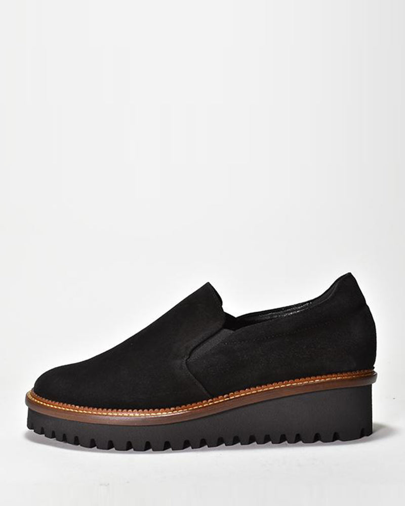 Alani Shoe | Black Suede