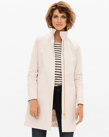 Carvin Perfect Trench | Ivory