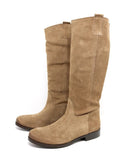 Tall Suede Pull On Boot | Toffee