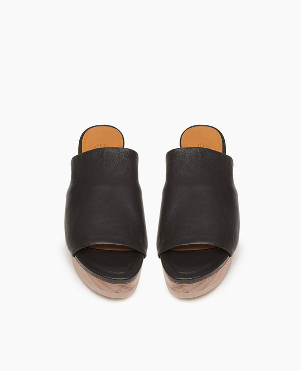 Ana Platform Slide | Black
