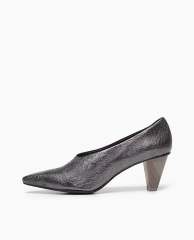 Jackii Pump | Pewter