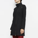 Rast Tech Stretch Zip Coat | Black