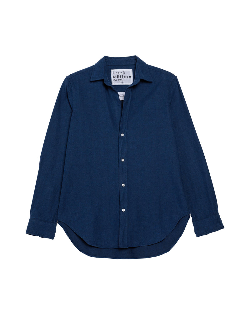 Frank Polar Flannel Button Down | Brilliant Blue