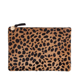 Flat Clutch | Leopard Hair