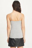 Ribbed Cami | Heather Grey
