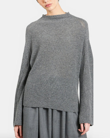 Harriet Cashmere Sweater | Heather Grey