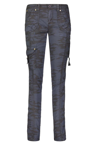Harry Stretch Poplin Pant | Navy Camo