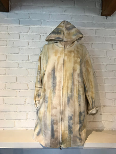 Cashmere Painted Hoodie Jacket