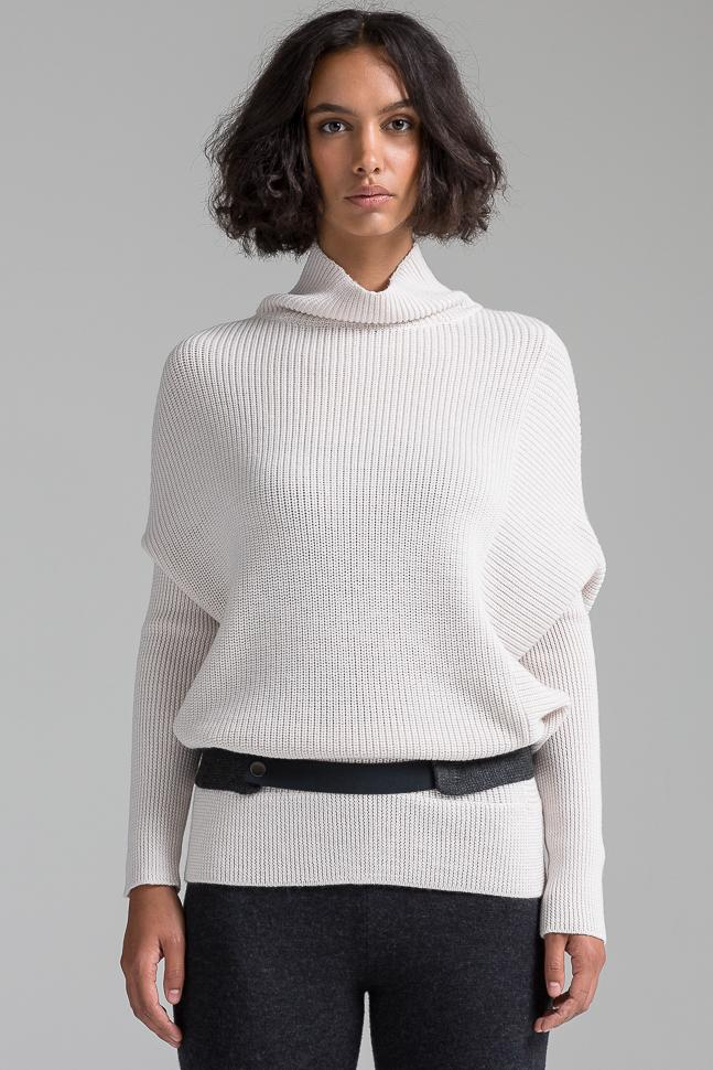 Turtleneck Pullover | Shell