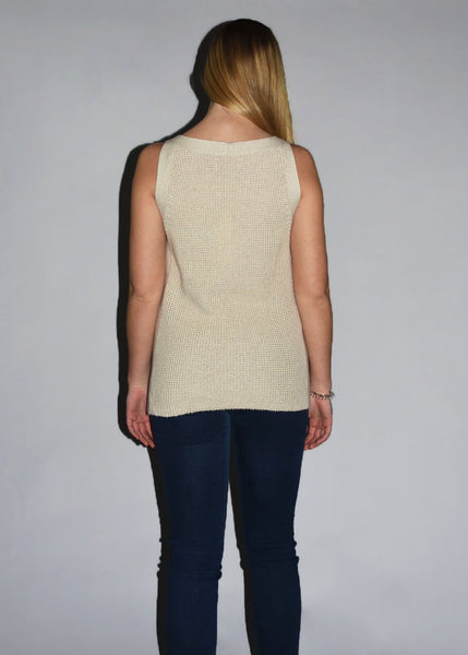 Kacie Sleeveless Tunic | Tallow
