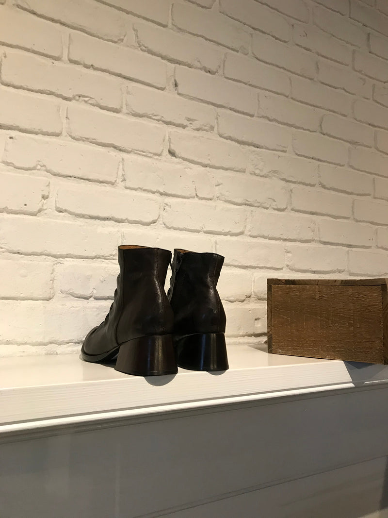 Tiba Short Bootie | Brown Montana