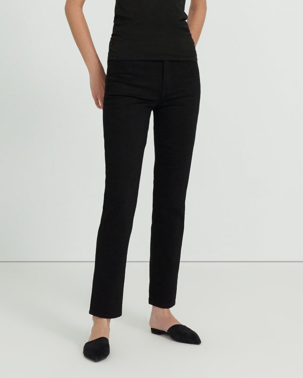 Teagan High Rise Straight Jean | Awniks