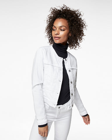 Harlow Collarless Jacket | Luna