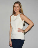 Kacie Sleeveless Tunic | Ivory