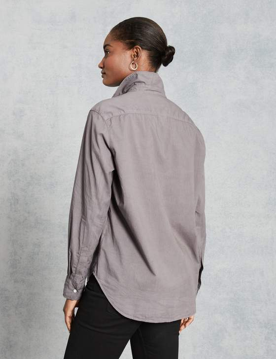 Eileen Light Poplin Button Down | Elephant