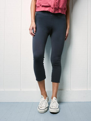 Cropped Legging | Carbon