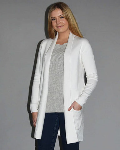Lily Travel Coat | Laser White