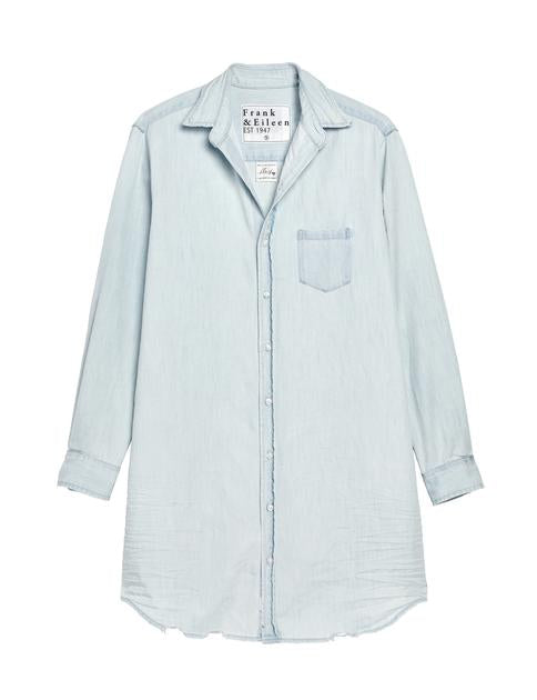 Mary Super Bleached Denim Dress