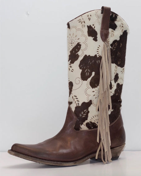 Cowboy With Haircalf | Brown