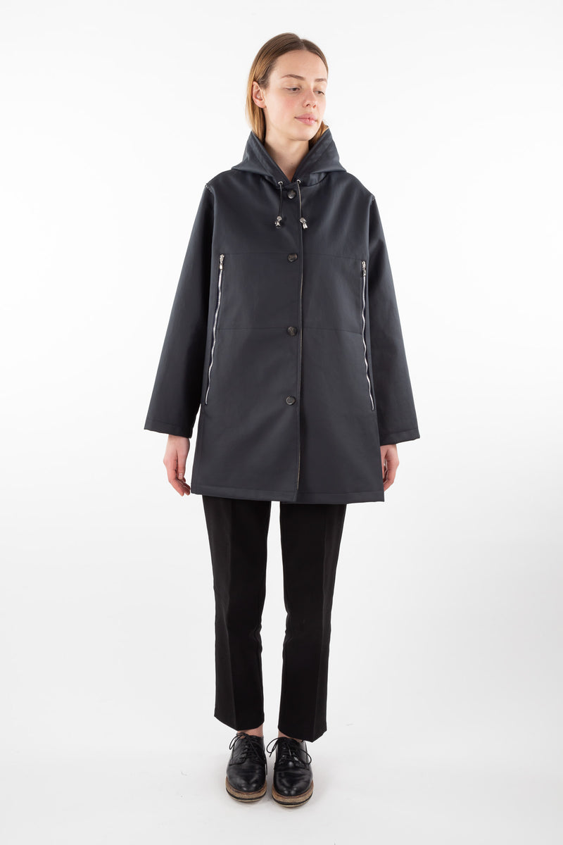 Manureva Rain Jacket | Deep Navy