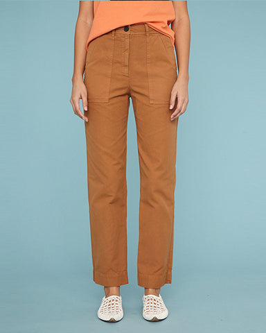 Vintage Canvas Officers Pant | Mocha