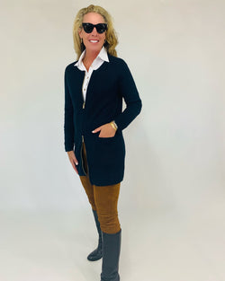 The Margaux Jacket | Neat Navy