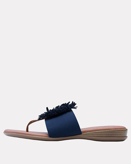 Novalee Stretch Sandal | Navy
