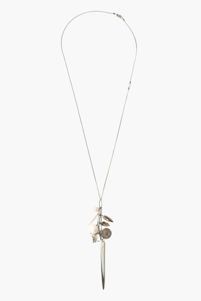 Pyrite Mix Charm Layering Necklace