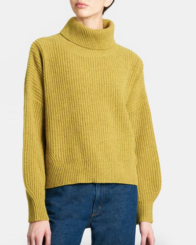 Tillie Merino Wool Sweater | Olive