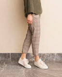 Merrissa Plaid Trouser