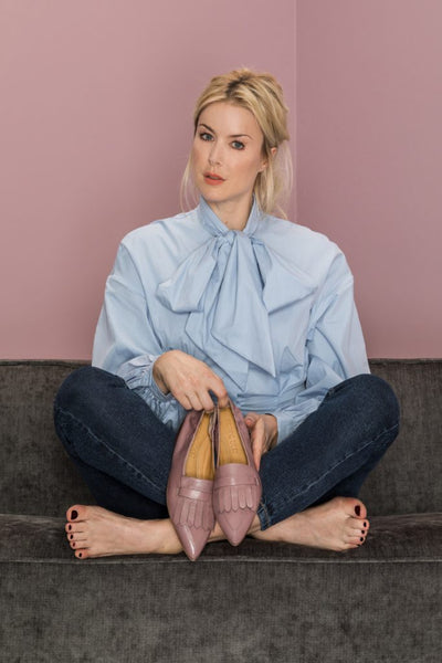 Grace Loafer | Mauve