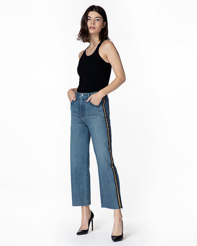Joan High-Rise Wide-Leg Crop | Quintessential