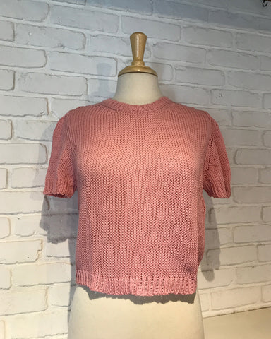 Emmer Short Sleeve Sweater