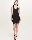 Ruched Dress | Black