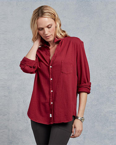 Lab Eileen Shirt | Bordeaux