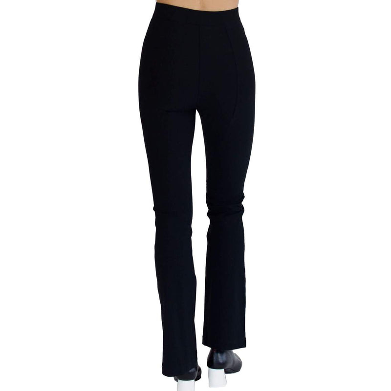 Tech Stretch Baby Boot Flare Legging | Black